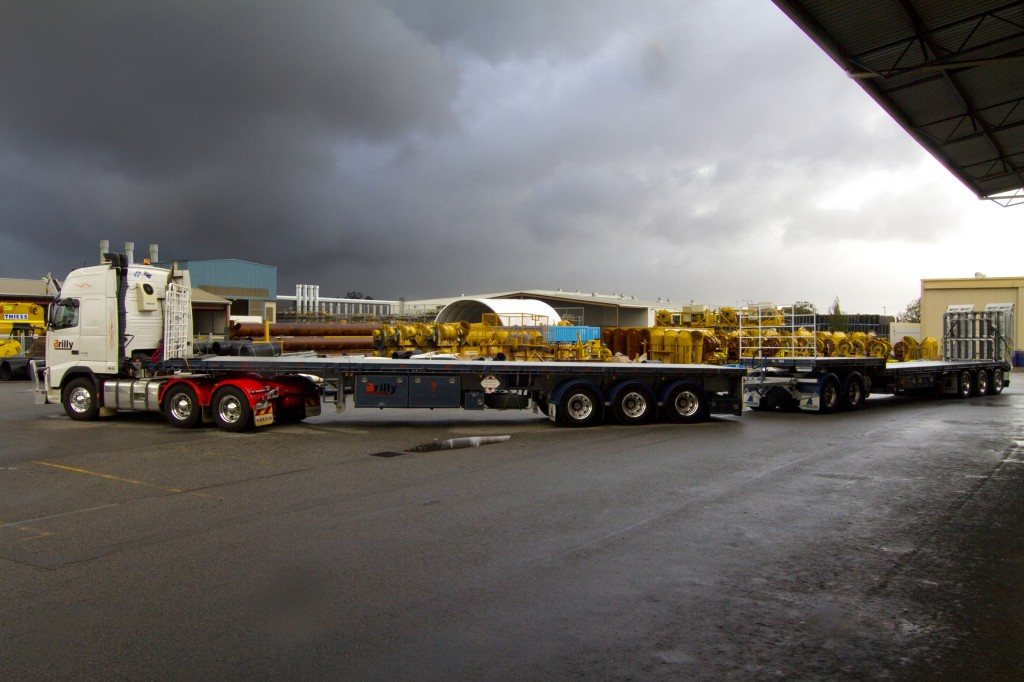 Brilly Transport now own two Freighter trailers, a flat top extendable and a drop deck extendable, both of which are road train rated to suit the Western Australian industry.